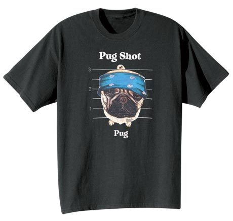 Dog Breed Tee- Pug