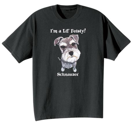 Dog Breed Tee- Schnauzer