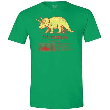 Dinosaur T-Shirt- Triceratops