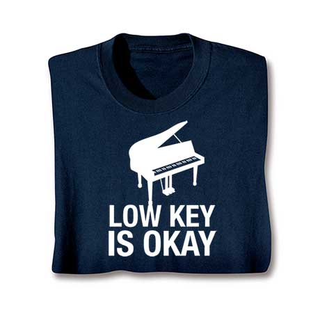 Music Instruction Long Sleeve T-Shirt- Piano