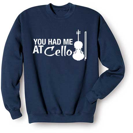 Music Instruction Ladies T-Shirt- Cello