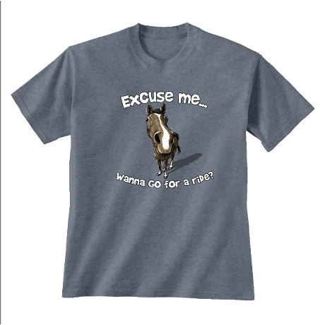 Excuse Me Horse T-Shirt