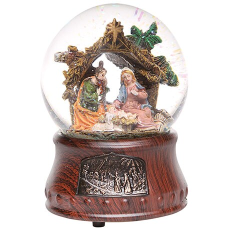 Musical Nativity Waterglobe