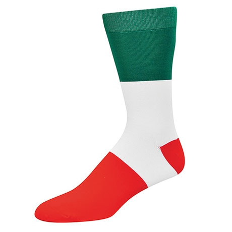 Country Flag Socks- Italy
