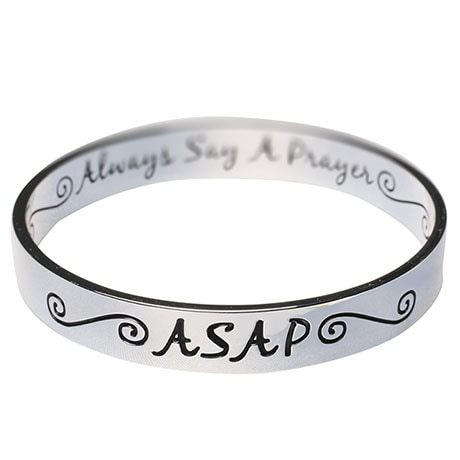 Inspirational Asap Bangle Bracelet