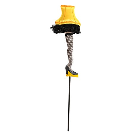 A Christmas Story Leg Lamp Tree Pick