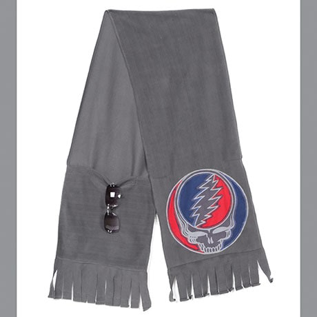 Grateful Dead Bolt Fleece Scarf