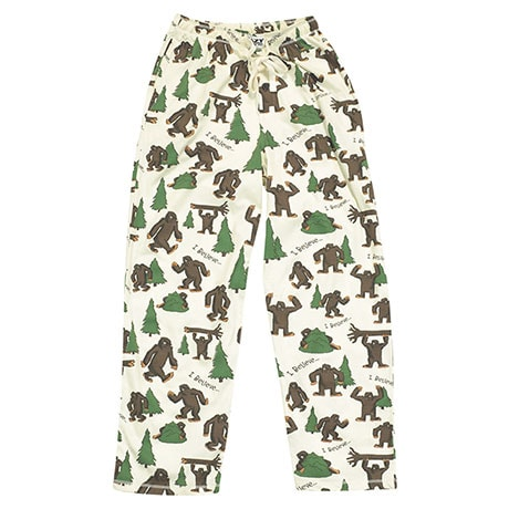 I Believe Bigfoot Loungewear Pants