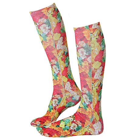 Gummy Bear Candy Sublimated Socks