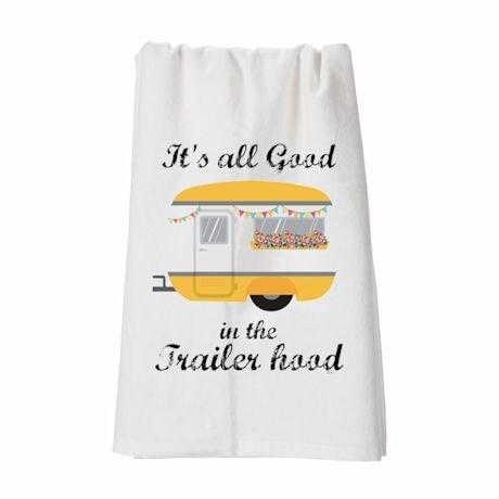 Trailer Hood Yellow Hang Tight Towel