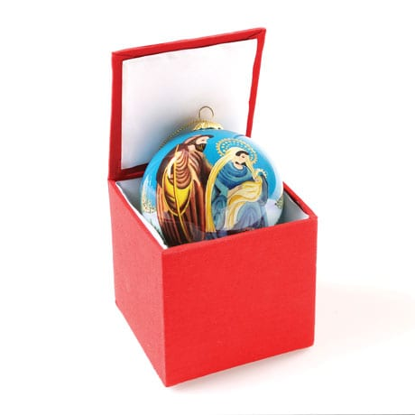 Hand-Painted Nativity Ornament