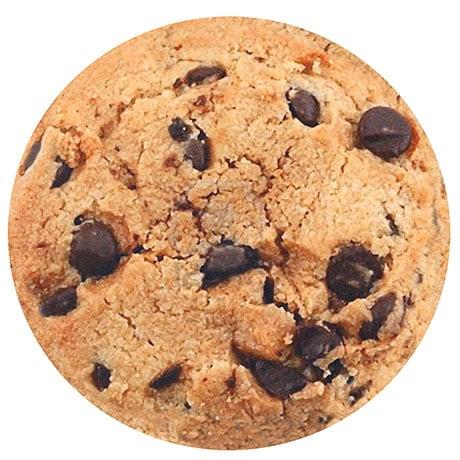 Yummy Round Chocolate Chip Cookie Floor Mat