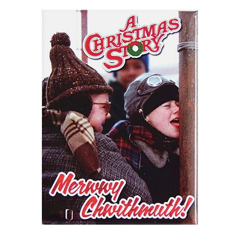A Christmas Story Magnet Set