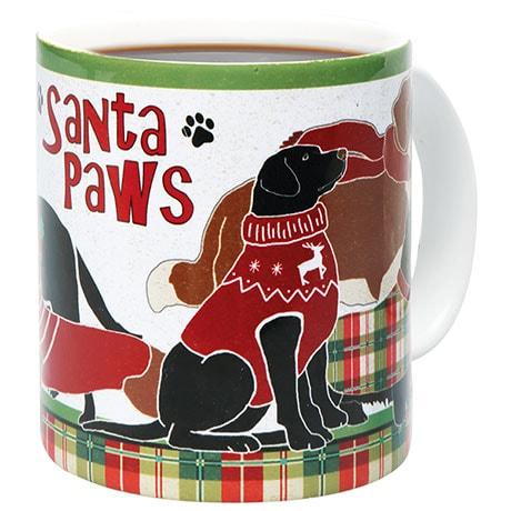 Santa Paws Pets Holiday Mugs