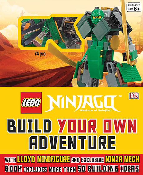 Lego®: Ninjago Build Your Own Adventure Books