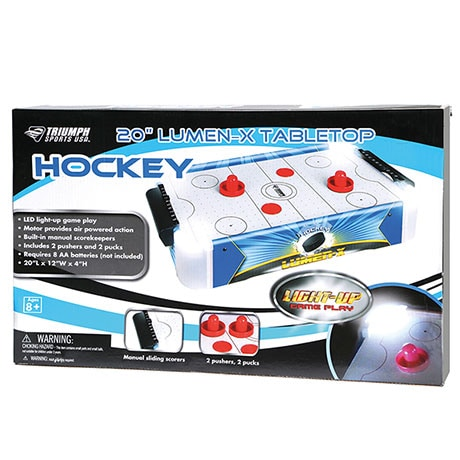 Table Top Air Hockey With Led Lights