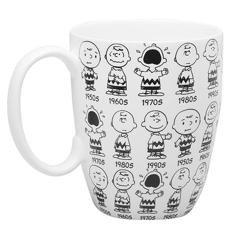 Peanuts© Anniversary Mugs- Charlie Brown