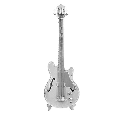 Metal Earth 3D Laser Cut Musical Bass Guitar Instrument Kit