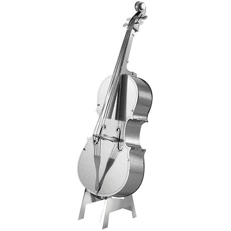 Metal Earth 3D Laser Cut Musical Bass Fiddle Instrument Kit