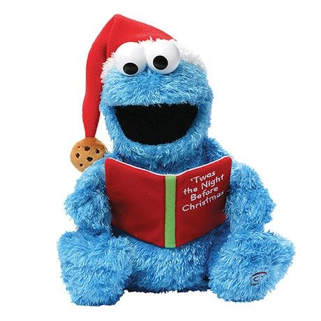 'Twas The Night Before Christmas Reading Cookie Monster