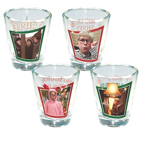 A Christmas Story Shot Glasses