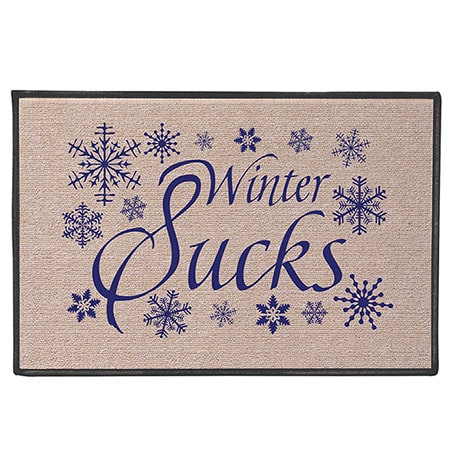 Winter Sucks Door Mat