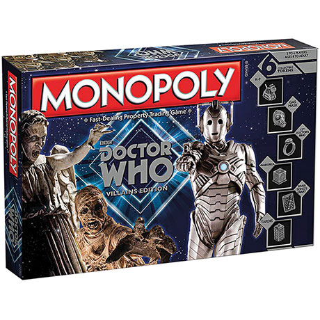 Monopoloy® Doctor Who Villians Edition Licensed Games