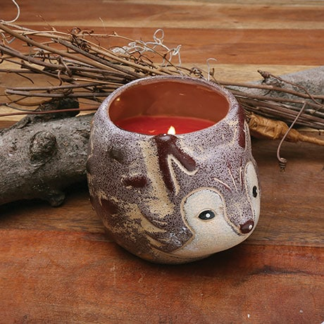 Woodwick Fox (Cinnamon Chai) Woodland Critters Crackling Candle