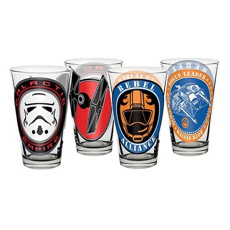 Star Wars Juice Glasses Set
