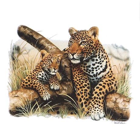 Mommy And Babies Leopard Ladies Hoodie