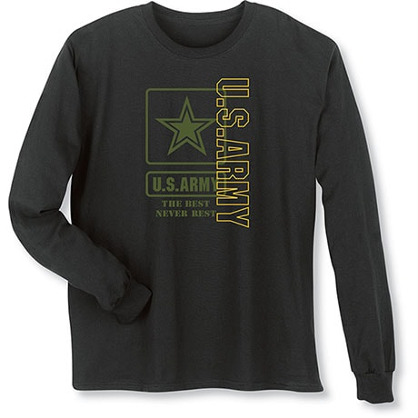 Military Army Long Sleeve T-Shirt