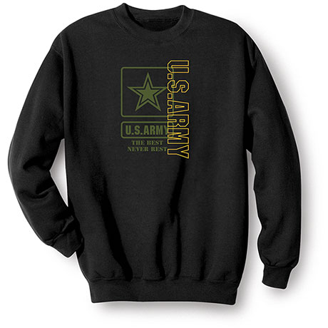 Military Army Sweatshirt