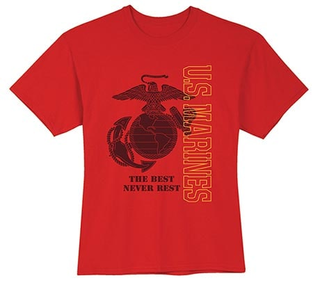 Military Marines T-Shirt