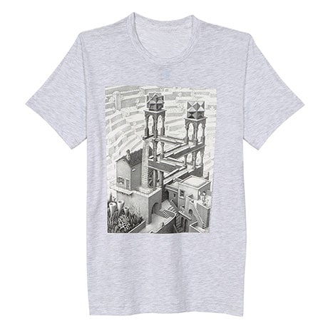M.C. Escher Waterfall T-Shirt