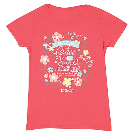 Ladies Faith Amazing Grace T-Shirt