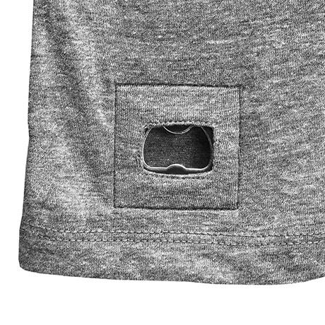 Pop Top T-Shirt with Bottle Opener
