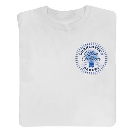 "Personalized ""Your Name"" Blue Ribbon Bakery Shirt"