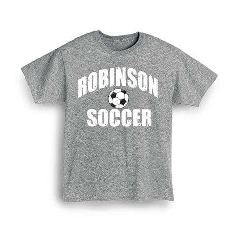"Personalized ""Your Name"" Soccer T-Shirt"