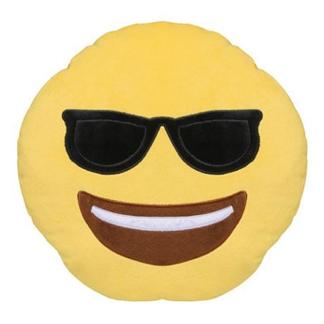 Emoji Sunglasses Pillows