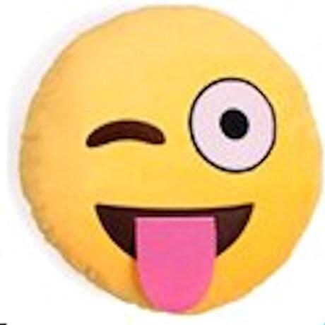Emoji Wink Pillows