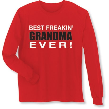 Best Grandparent Shirts- Grandma