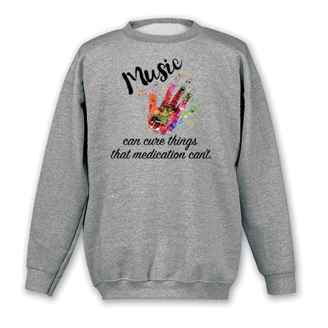 Music Can Cure Things Shirts
