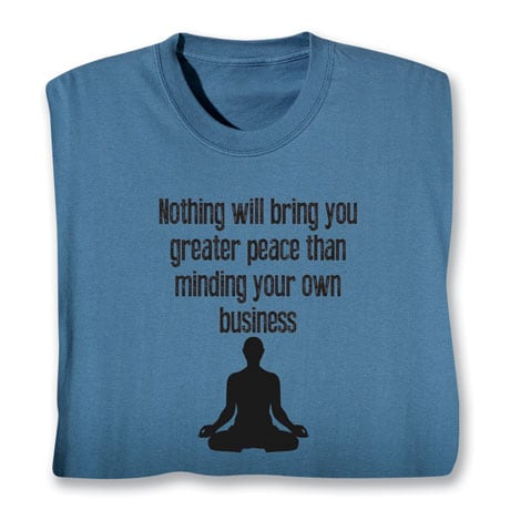 Minding Your Own Business T-Shirt