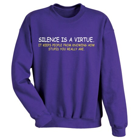 Silence Is A Virtue T-Shirt