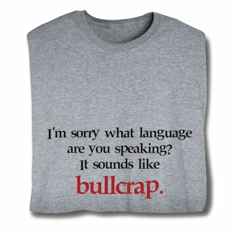What Language T-Shirt