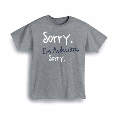Sorry. Shirts