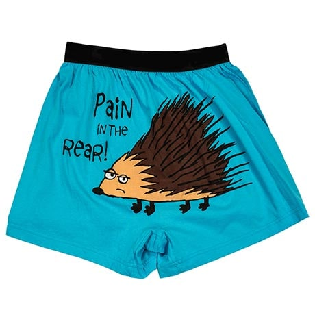 Comical Boxers- Pain In The Rear