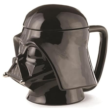 Darth Vader Star Wars® 3-D Ceramic Lidded Mugs