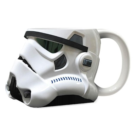 Storm Trooper Star Wars® 3-D Ceramic Lidded Mugs
