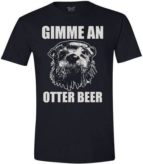 Animal Humor Tees- Otter